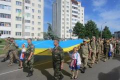 День независимости. Праздничное шествие
