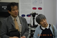 Guests from Fukushima NPP, Japan. 2015