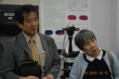 Guests from Fukushima NPP, Japan. 2015