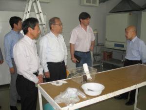 Делегація TEPCO в Чорнобильському центрі/TEPCO representatives in the Chornobyl Center