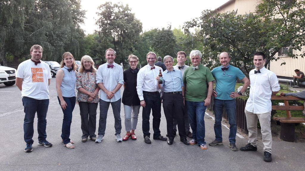 «Встреча без галстуков»: команда исследователей по завершенню чернобыльской экспедиции