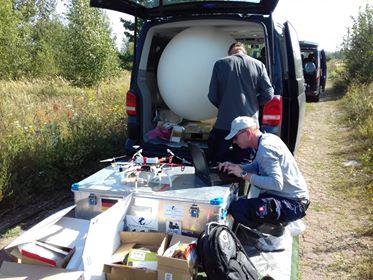 Підготовка БПЛА до роботи/Preparation of UAV for work