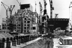 Construction of the 1st stage Chernobyl
