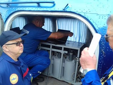 Підготовка гамма-спектрометра для аерогаммазнімання/Preparation of the gamma spectrometer for airborne gamma survey
